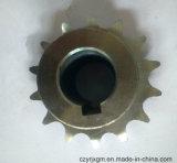 Ruota dentata Chainwheels del rullo dentato della rotella Chain dell'Assemblea della rotella del acciaio al carbonio del macchinario