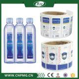 Contrassegno adesivo dell'autoadesivo della pellicola trasparente personalizzato alta qualità per acqua minerale