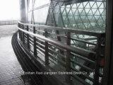 Acier inoxydable en dehors de balustre d'acier d'escaliers de pêche à la traîne
