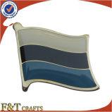 De reclame van het Kenteken van de Speld van de Vlag van Duitsland van het Embleem van het Metaal van de Douane (FTFP1631A)