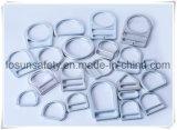 La alta calidad de la ISO 9001 forjó los anillos en D de acero del cinc