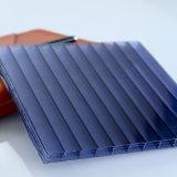 Feuille de polycarbonate de Multiwal avec la feuille de PC de Sun de certificat d'OIN