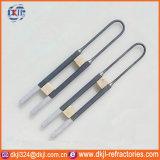 Elementi riscaldanti di vetro industriali caldi della fornace Mosi2 di vendita 1800c