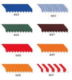 100% color de acrílico teñido solución del llano de la tela del toldo de la tela (SAWFB004)