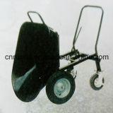 Trole do aço inoxidável de quatro rodas