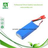 Batería recargable 3.7V 7.4V de Lipo para la batería de la potencia