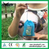 Sac à provisions pliable en nylon à dos en nylon réutilisable