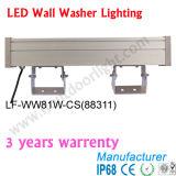 81W RGB Wand-Unterlegscheiben für DMX, Madrix adressierbares Wand-Unterlegscheibe-Licht 88311 27X3