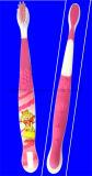 Kind-Zahn-Pinsel (3-12years) mit der Karikatur-Entwurfs-Zunge sauber als Saugventil