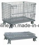 Recipiente do engranzamento de fio de aço do metal (1100*1000*890 QA-6)