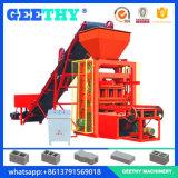 Máquinas para la máquina manual del bloque de la industria Qtj4-26 de la pequeña escala