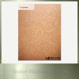 Hoja de acero inoxidable coloreada de cobre de 316 rayitas para la decoración