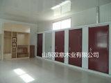 PVCアクセサリが付いている上塗を施してある内部部屋のドア