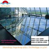 Dar salida a el vidrio aislado E inferior de 6+12+6m m para el edificio