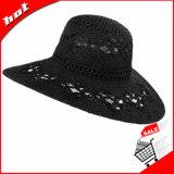 Chapéu flexível de Sun do teste padrão de flor
