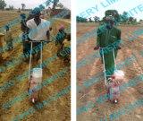 トウモロコシのための単一の列そして二重列押しのトウモロコシの種取り機