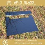 vidrio pintado posterior de 4mm/5mm/6mm/8m m/vidrio posterior del color/vidrio pintado negro
