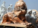 Animal de mármol/león de piedra/león de mármol