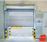 Автоматические высокоскоростные двери завальцовки/алюминиевая дверь штарки ролика с аттестацией CE