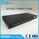 최고 판매 제품 국부 개폐기 32 운반 FXO FXS VoIP 게이트웨이