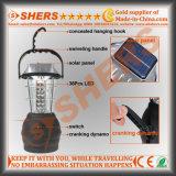Dinamo di funzionamento manuale di campeggio ricaricabile della lanterna del Portable 36 LED