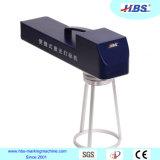 máquina Handheld de la marca del laser de la fibra 20W para el marcado grande de los productos de la talla