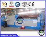 Máquina de dobra da placa de 3 rolos, máquina de rolamento da placa