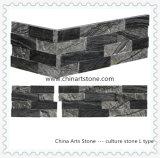 De Chinese Houten Zwarte en Grijze Marmeren Steen van de Cultuur van de Hoek van L