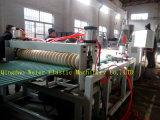 Cadena de producción del azulejo de material para techos de la placa de la onda del PVC