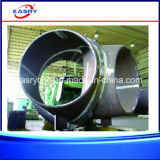 CNC van Drukvaten Machine van de Boring van het Plasma de Scherpe voor Ronde Pijp/Vierkante Buis