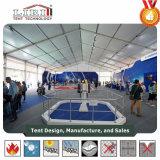 屋外展覧会のための顧客用テントホール