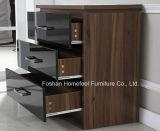 3 piezas de alto brillo dormitorio Armario Combi Set Dresser