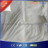 Cobertor inferior elétrico cabido poliéster com aprovaçã0 do Ce