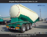 3 de Aanhangwagen van de Tanker van de Vrachtwagen van het Cement van de as met As Fuwa en Dieselmotor
