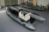Barco inflable de aluminio del casco los 5.3m, barco de la costilla, barco de pesca, PVC o barco Rib520A del deporte de Hypalon