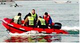 Yachts à vendre Liya 2m au bateau en aluminium de PVC d'étage de 6m (UB200-UB650)