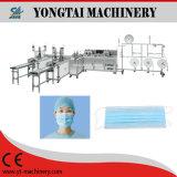 Máscara exterior médica e cirúrgica descartável automática de Earloop que faz a máquina