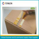 Anhaftendes verpackenband mit Einfach-Zerreißenden Zeilen