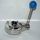Butterfly saldato Valve per Food Medical Industry