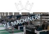 China-einzelne Zeile Plastikshirt-Einkaufstasche, die Maschine herstellt