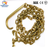La cargaison amarrent à chaînes/fouetter la chaîne/chaîne de cahier/chaîne de transport