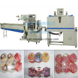 PLC Control Automatic Jelly Cup Shrink Packaging Machine