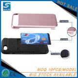Nuevos 3 que vienen en 1 caja combinada del teléfono de la ranura para tarjeta de la cubierta de la diapositiva para Samsung S8/S8 más