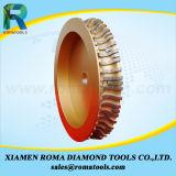 Diamant de Romatools profilant des roues pour le marbre et le grès de granit