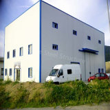 Vorfabrizierte Geländer-Wand-Stahlkonstruktion-Werkstatt für Frankreich