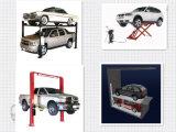 Levage hydraulique de véhicule de ciseaux avec la fonction d'alignement de roue