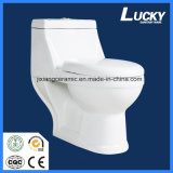 Hot Ceramic One-Piece Toilet 20 # Washdown avec Saso