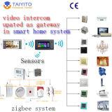 Campanello di memoria incorporata di Taiyito video per la villa con la funzione di automazione domestica