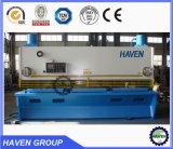 Cnc-hydraulische Guillotine-scherende Maschine, Stahlplatten-Ausschnitt-Maschine CNC-Hydraulc