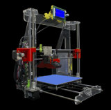 con la impresora personal libre 3D de Reprap Prusa I3 DIY del filamento